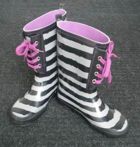 Brenda Dyck's Guerilla Garden Trick Boots