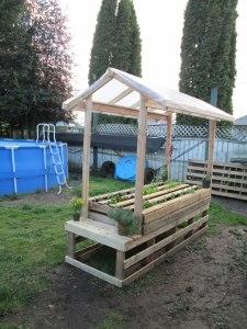 Pallet Garden DYI Upgrade