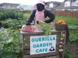 Guerilla Garden Cafe Surprise