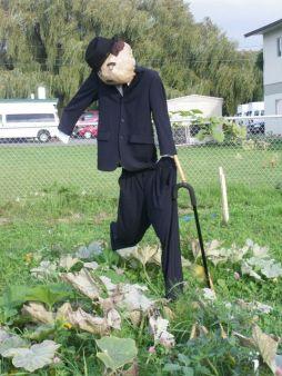 Scarecrow Contest 2013 Carlie Chaplin