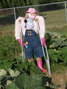 Scarecrow Contest 2013_Scarecrow on Crutches