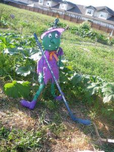 Scarecrow Contest 2013_Hockey Witch