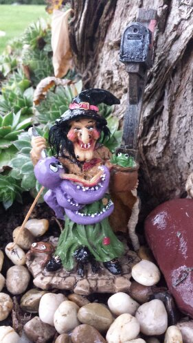 Fairy Garden Witch