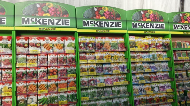 McKenzie Seed Display