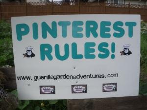 Guerilla Garden Pinterest