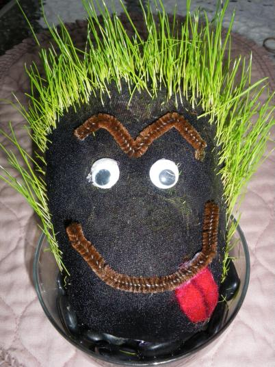 Cheeky Grass Head